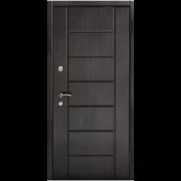 Картинка - Входная дверь Форт Премиум Канзас венге темный
