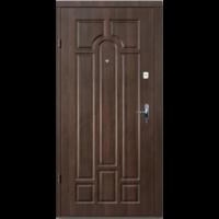 Входная дверь Премиум Классик Улица орех коньячный