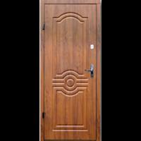 Картинка - Входная дверь Форт эконом Лондон дуб золотой
