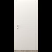 Картинка - Дверь межкомнатная DOORIS грунтованное под покраску G00 грунт с алюминиевым торцом