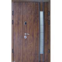 Картинка - Входная дверь REDFORT Авеню 2 створки стеклопакет (Эталон)