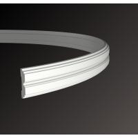 Картинка - Молдинг с гладким профилем Европласт 1.51.357 (гибкий)
