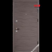 Входная дверь Страж Брезза софт смоки с двух сторон флэш