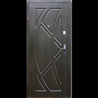 Картинка - Входная дверь Форт эконом Викинг венге темный