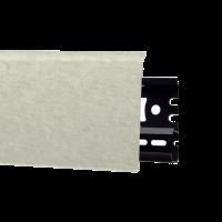 Картинка - Плинтус Arbiton INDO, Кембридж №134 70x26x2500 Белый INDO-134
