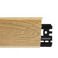Картинка - Плинтус Arbiton INDO, Дуб Изысканный №09 70x26x2500 Светло-коричневый INDO-09