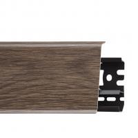 Картинка - Плинтус Arbiton INDO, Венге Африка №14 70x26x2500  Тёмно-коричневый INDO-14