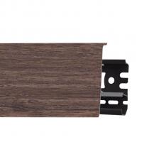 Картинка - Плинтус Arbiton INDO, Дуб Тасмания №140 70x26x2500 Коричневый INDO-140