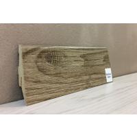 Картинка - Плинтус Супер Профиль Монблан Браун 2800x55x19 Серо коричневый 1255mb