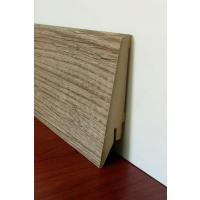 Картинка - Плинтус Супер Профиль Монблан Браун 2800x80x21 Серо коричневый 1682mb