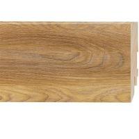Картинка - Плинтус Classen Prestige, Дуб Верден Медовый (2400x80x16) Светло-коричневый 222770