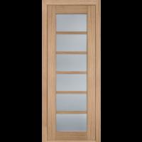 Картинка - Дверь межкомнатная модель 137 (глухая/остекленная) дуб светлый Terminus