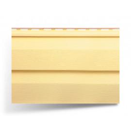 """Картинка - Сайдинг двухпереломный """"Kanada Плюс"""" желтый"""