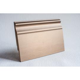 Картинка - Плинтус Luciano allurivest K коричневая бронза 2400x82x16 Коричневый 500AMC82BBKM1
