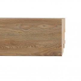 Картинка - Плинтус Classen Prestige, Дуб Альтеа (2400x80x16) Светло-коричневый 223106