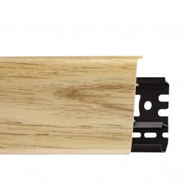 Картинка - Плинтус Arbiton INDO, Дуб Виндстоун №05 70x26x2500 Светло-коричневый INDO-05