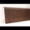 Фото - Плинтус деревянный шпонированный Kluchuk Евро Дуб браун 60х18х2400 Коричневый KLE6013 -  №2