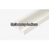 Фото - Профиль ПВХ F-полоса широкая белая ( 3 м.п. ) -  №2