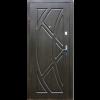 Фото - Входная дверь Форт эконом Викинг венге темный -  №2