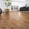 Фото - Ламинат Kaindl Natural Touch 8.0 Wide Plank FISHbone, Дуб Фортрес Рокеста K4378   -  №4
