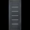 Фото - Дверь межкомнатная модель 137 (глухая/остекленная) дуб antracit grey Terminus -  №2