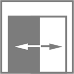 Стандартные размеры двухстворчатого блока