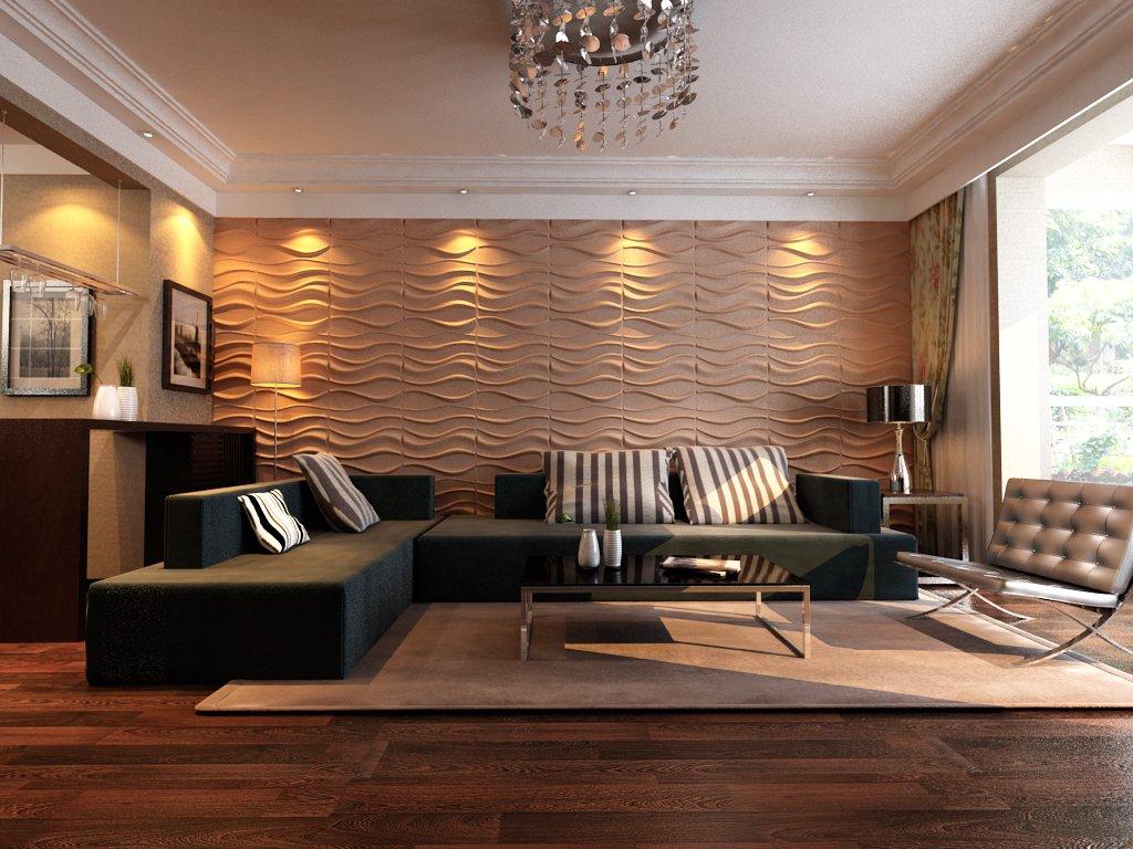 Ламинированные панели для жилых комнат