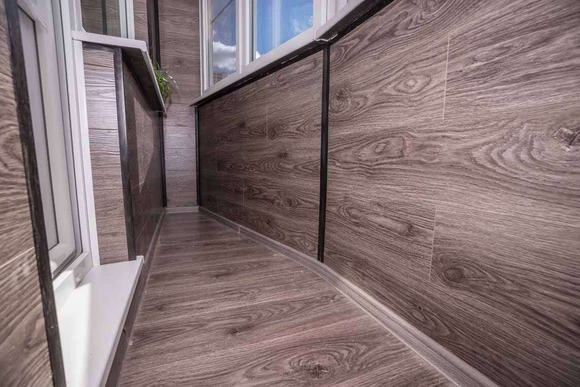 Стоимость ламината для балкона