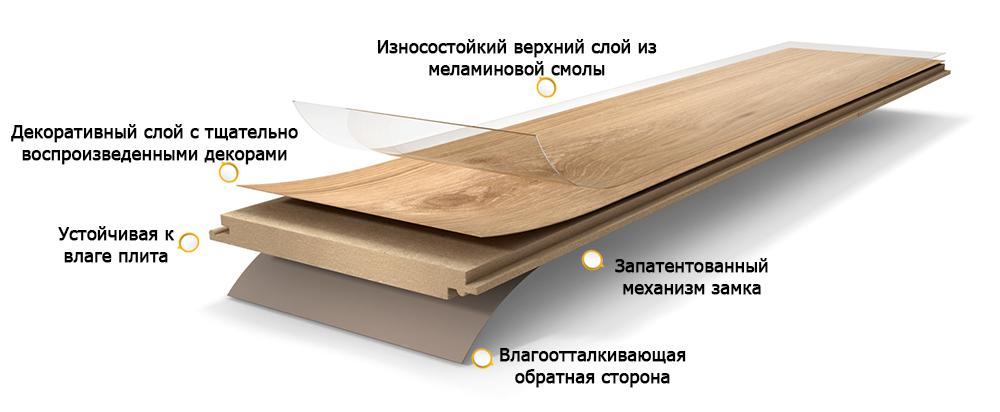 Структура ламели